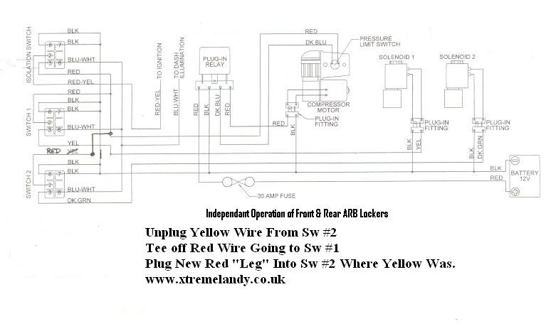 arb compressor wiring harness arb image wiring diagram arb carling switch wiring diagram wirdig on arb compressor wiring harness
